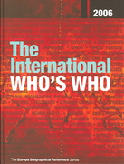 International Who's Who 2006 69th edition 9781857433074 1857433076