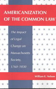 Americanization of the Common Law 0 9780820315874 0820315877