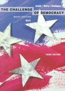 Challenge of Democracy Brief, Third Edition 3rd edition 9780395774496 0395774497