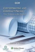 Cost Estimating and Contract Pricing 0 9780808018193 0808018191