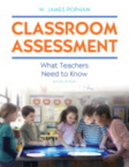 Classroom Assessment 8th Edition 9780134027296 0134027299