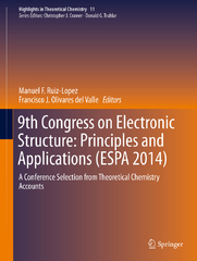9th Congress on Electronic Structure: Principles and Applications (ESPA 2014) 1st Edition 9783662492215 3662492210