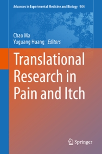 Translational Research in Pain and Itch 1st Edition 9789401775373 9401775370