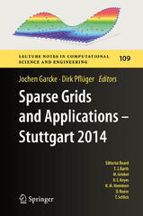 Sparse Grids and Applications - Stuttgart 2014 1st Edition 9783319282626 331928262X