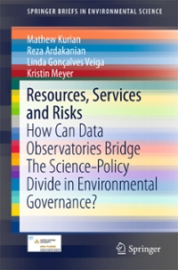 Resources, Services and Risks 1st Edition 9783319287065 3319287060