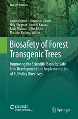 Biosafety of Forest Transgenic Trees 1st Edition 9789401775311 9401775311