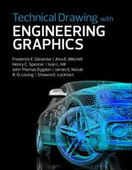 Technical Drawing with Engineering Graphics 15th Edition 9780134306414 0134306414