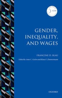 Gender, Inequality, and Wages 1st Edition 9780198779971 0198779976