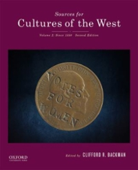 Sources for Cultures of the West 2nd Edition 9780190240509 0190240504
