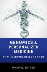 Genomics and Personalized Medicine 1st Edition 9780190234782 0190234784