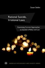 Rational Suicide, Irrational Laws 1st Edition 9780199981199 0199981191