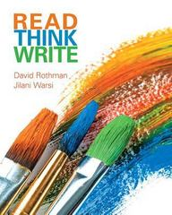 Read Think Write 1st Edition 9780134096643 0134096649