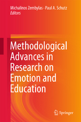 Methodological Advances in Research on Emotion and Education 1st Edition 9783319290492 3319290495