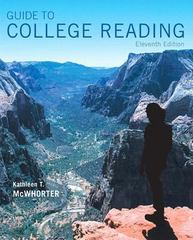 Guide to College Reading Plus MyReadingLab with Pearson eText -- Access Card Package 11th Edition 9780134118734 0134118731