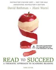 Read to Succeed 2nd Edition 9780134072869 0134072863