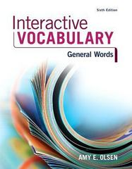 Interactive Vocabulary 6th Edition 9780134122373 0134122372