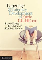 Language and Literacy Development in Early Childhood 1st Edition 9781107578623 1107578620