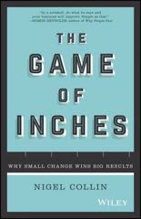 The Game of Inches 1st Edition 9780730328971 073032897X