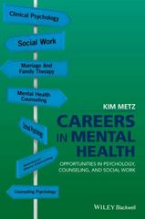 Careers in Mental Health 1st Edition 9781119221111 1119221110