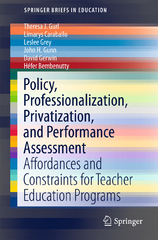 Policy, Professionalization, Privatization, and Performance Assessment 1st Edition 9783319291468 3319291467