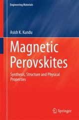 Magnetic Perovskites 1st Edition 9788132227595 813222759X