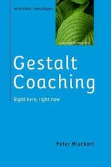 Gestalt Coaching 1st Edition 9780335264568 0335264565