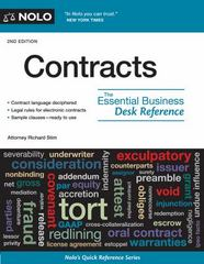 Contracts 2nd Edition 9781413323009 1413323006