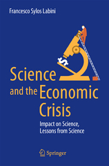 Science and the Economic Crisis 1st Edition 9783319295282 3319295284