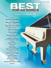 Best Top 40 Songs, '50s To '70s 1st Edition 9781470627201 1470627205