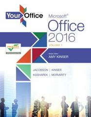 Your Office 1st Edition 9780134320809 0134320808