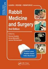 Rabbit Medicine and Surgery 2nd Edition 9781498730792 1498730795