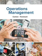Operations Management, 1e 1st Edition 9781259142208 1259142205