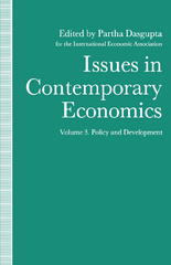 Issues in Contemporary Economics 1st Edition 9781349115792 1349115797