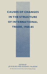 Causes of Changes in the Structure of International Trade, 1960-85 1st Edition 9781349101313 1349101311