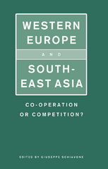 Western Europe and Southeast Asia 1st Edition 9781349102624 1349102628