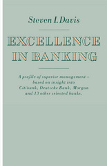 Excellence in Banking 1st Edition 9781349079124 134907912X