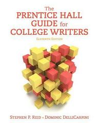 The Prentice Hall Guide for College Writers Plus MyWritingLab -- Access Card Package 11th Edition 9780134216577 0134216571
