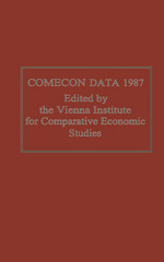 Comecon Data 1987 1st Edition 9781349089550 1349089559