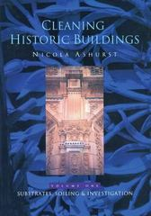 Cleaning Historic Buildings: v. 1 1st Edition 9781317741145 1317741145