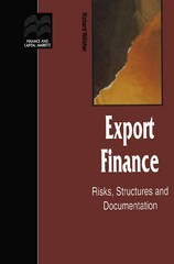 Export Finance 1st Edition 9781349139804 1349139807