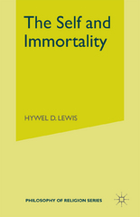Self and Immortality 1st Edition 9781349001521 134900152X