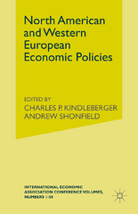 North American and Western European Economic Policies 1st Edition 9781349010981 1349010987