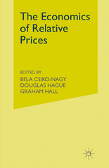 Economics of Relative Prices 1st Edition 9781349062652 1349062650