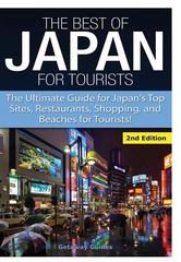 The Best of Japan for Tourists 1st Edition 9781329641792 1329641795