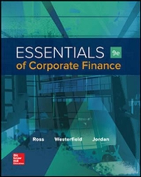 Essentials of Corporate Finance 9th Edition 9781259277214 1259277216