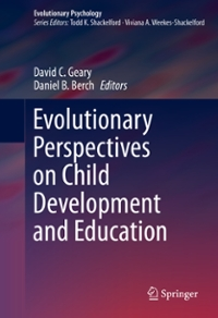 Evolutionary Perspectives on Child Development and Education 1st Edition 9783319299860 3319299867