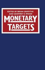 Monetary Targets 1st Edition 9781349165575 1349165573