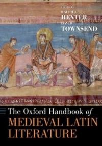 The Oxford Handbook of Medieval Latin Literature 1st Edition 9780190497095 0190497092