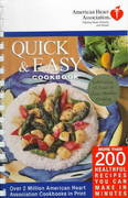 American Heart Association Quick & Easy Cookbook 0 9780812930115 0812930118