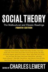 Social Theory 4th edition 9780813343921 0813343925
